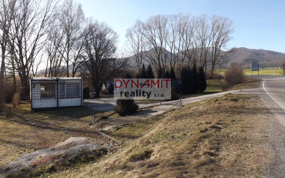 Predaj pozemok 739 m2, Nitrianske Rudno okres Prievidza.