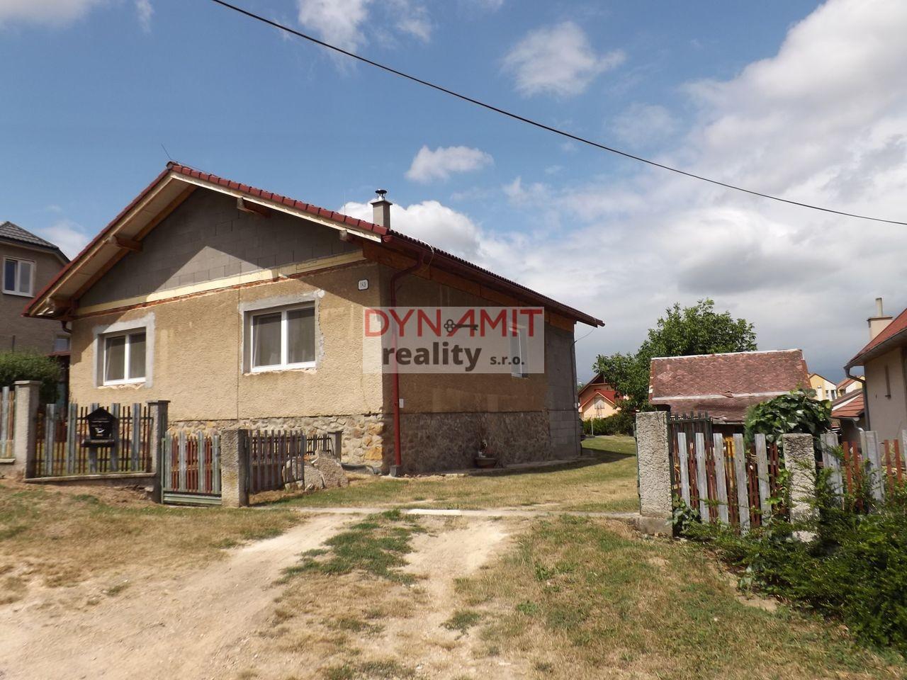 Predaj 3 izbový rodinný dom 1139 m2 Lazany
