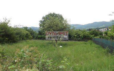 Predaj záhrada 340 m2 Handlová, osada Nad kúpaliskom.