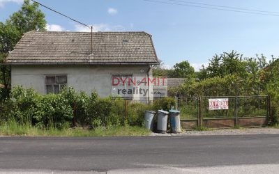 EXKLUZÍVNE – Predaj starší rodinný dom 1 030m2, Poruba okres Prievidza