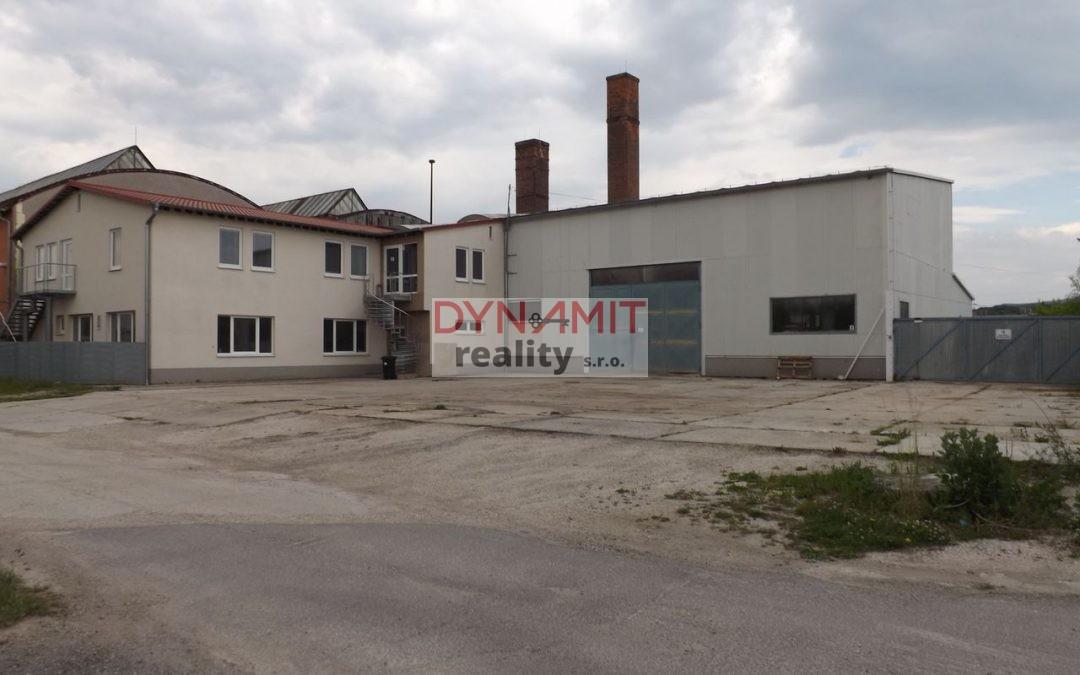 Prenájom priemyselný areál 1 734 m2 Prievidza