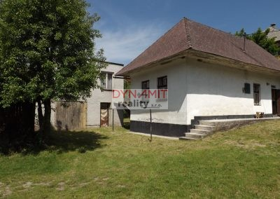 EXKLUZÍVNE – Predaj starší rodinný dom s prístavbou Valaská Belá