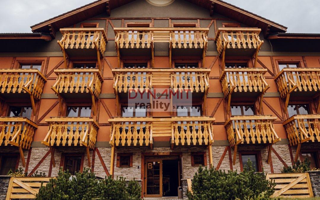 Investičná príležitosť – Apartmán s jedinečným výhľadom na panorámu Tatier – Veľká Lomnica – EXKLUZÍVNE/PREDAJ