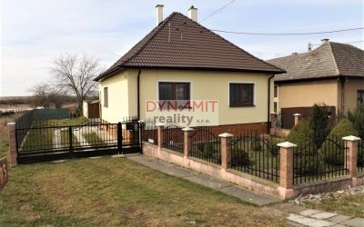 EXKLUZÍVNE – Predaj 4 izbový rodinný dom, Ostratice okres Partizánske